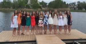 Students gathered for the Mother and Daughter Breakfast hosted by the Parents Association on May 31 at The Riverhouse at Rumson Country Club.
