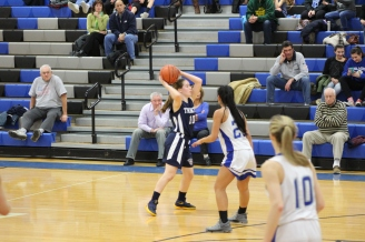 Colleen Looks for an Opening in Holmdel Playoffs